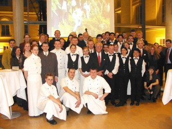 Our excellent service, wonderful cooks, orchestra and friends - UNITED!