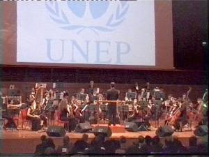 UNEP supports the orchestras goals