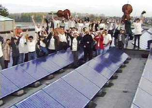Orchestras own 30 kW photovoltaic panels on roof of Beethovenhalle, Bonn